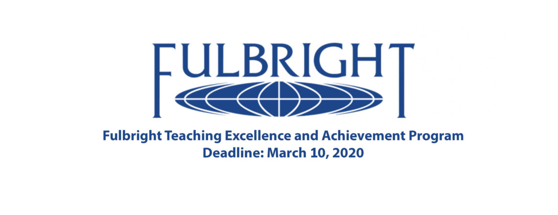 Fulbright Teaching Excellence and Achievement Program (TEA)