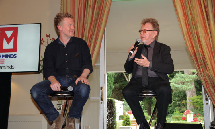 "Paul Williams and Glen Hansard particpated in a Creative Minds entitled ""A Conversation on Songwriting Craft and Music Copyright""."