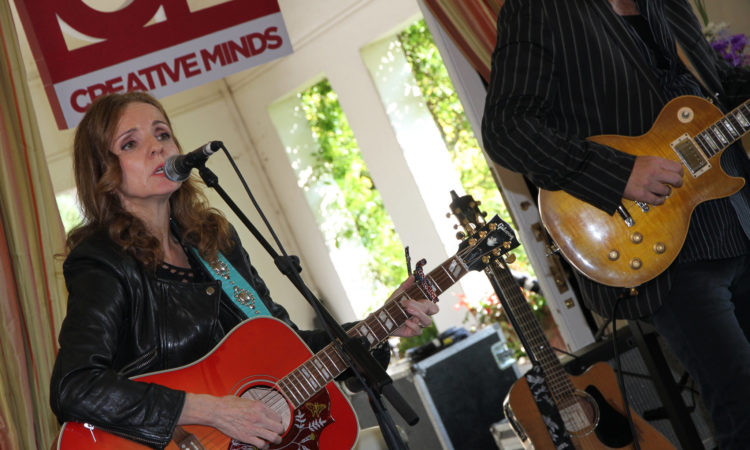 Patty Griffin performs at the U.S. Ambassador's Residence