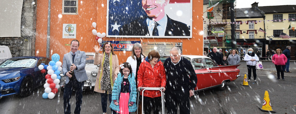 Biden's heritage links towns in Pennsylvania and Ireland