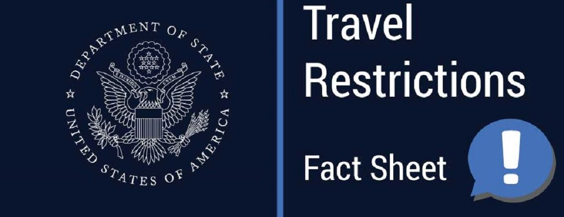 U.S. Visa and Travel FAQs for non-U.S. citizens during COVID-19