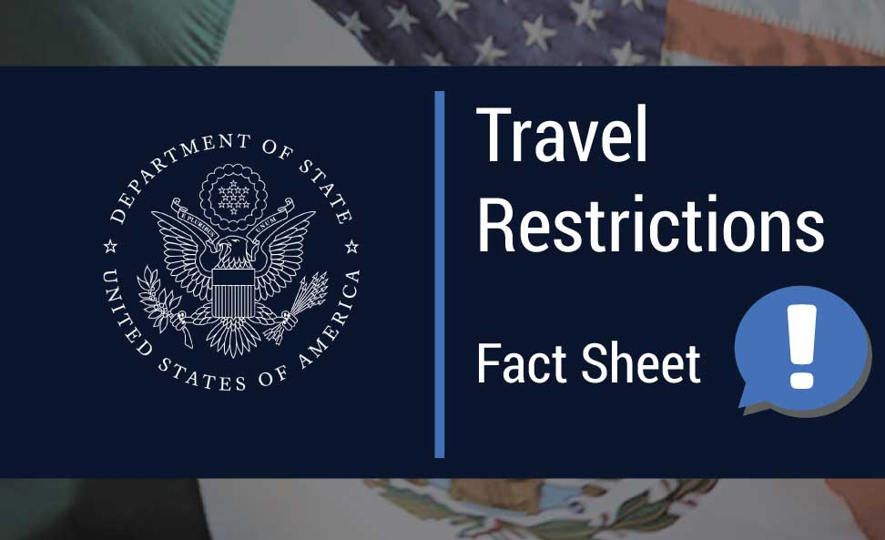 U S Visa And Travel Faqs For Non U S Citizens During Covid 19 U S Embassy In Ireland