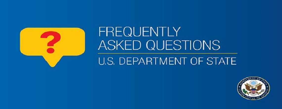 FAQ's for U.S. Citizens during COVID-19