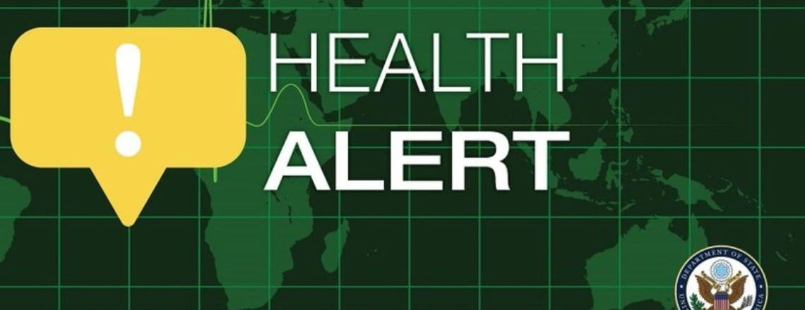 Health Alert from U.S. Embassy Dublin
