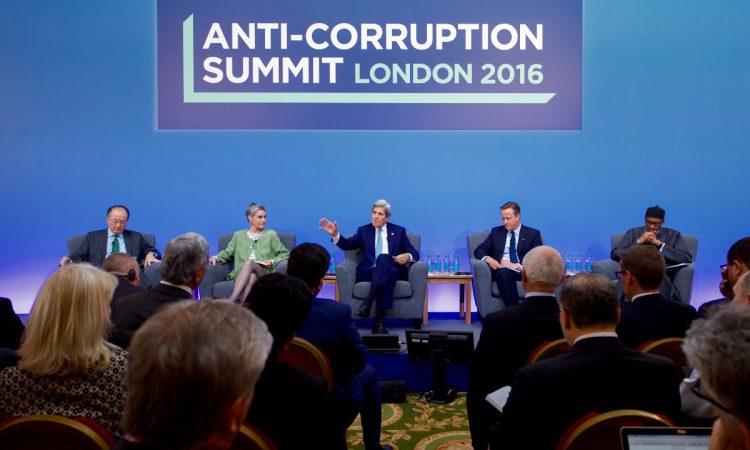 Sommet contre la corruption, Londres, mai 2016