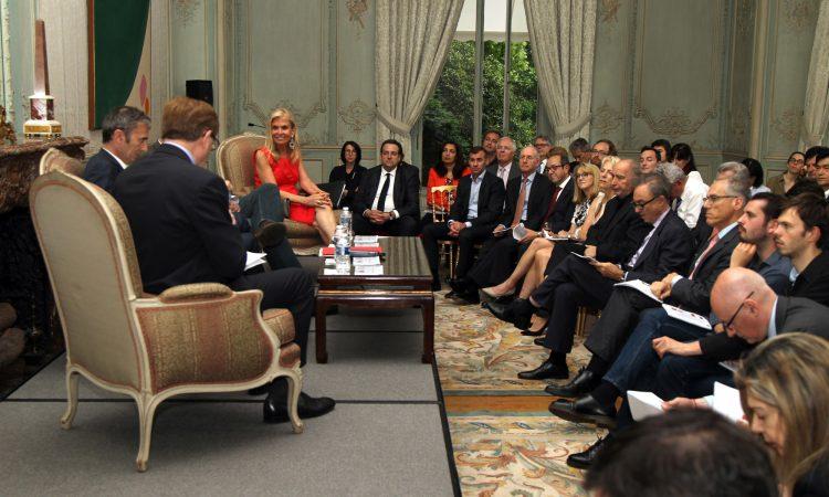 Soirée Ipsos sur les élections présidentielles en France et aux Etats-Unis (DOS photo)