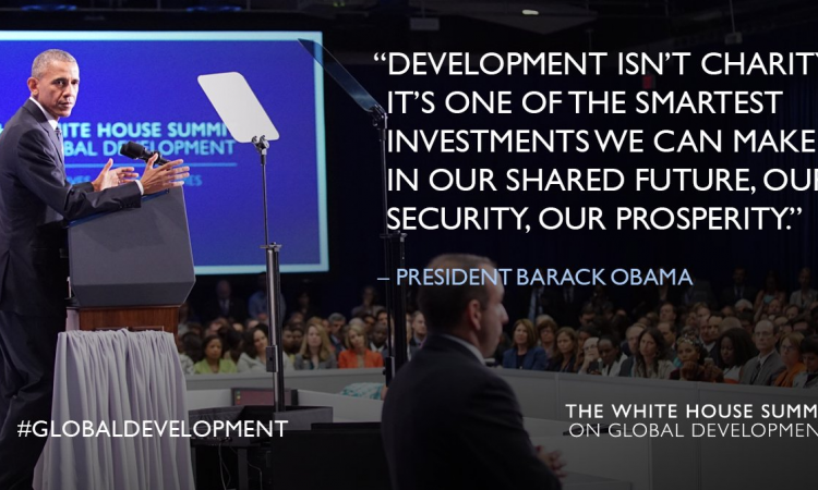The White House Summit on Global Development