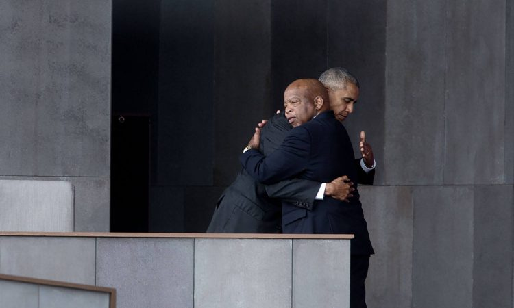 President Obama and Rep Lewis