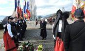 Commémoration au monument américain de Sigolsheim. Février 2017