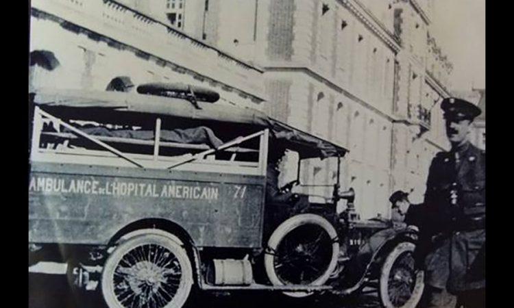 American Hospital Paris: Ambulance de l'Hôpital américain pendant la 1ère Guerre Mondiale