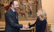 Ambassador McCourt meets Prime Minister Philippe