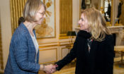 2018-03-29 AMB Meeting with Françoise Nyssen Minister of Culture 750