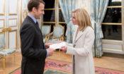 Ambassador McCourt - Presentation of Credentials to President Macron - Elysee