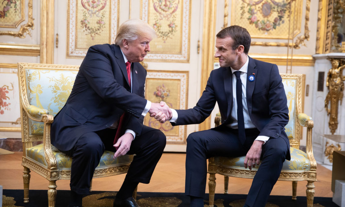 Remarks By President Trump And President Macron Of France U S Embassy Consulates In France