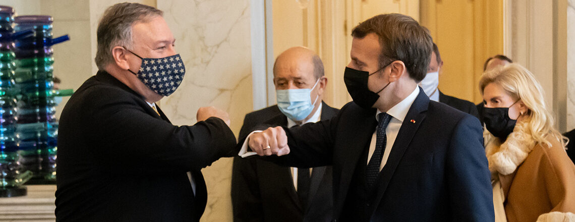Secretary Pompeo's Meeting with French President Macron