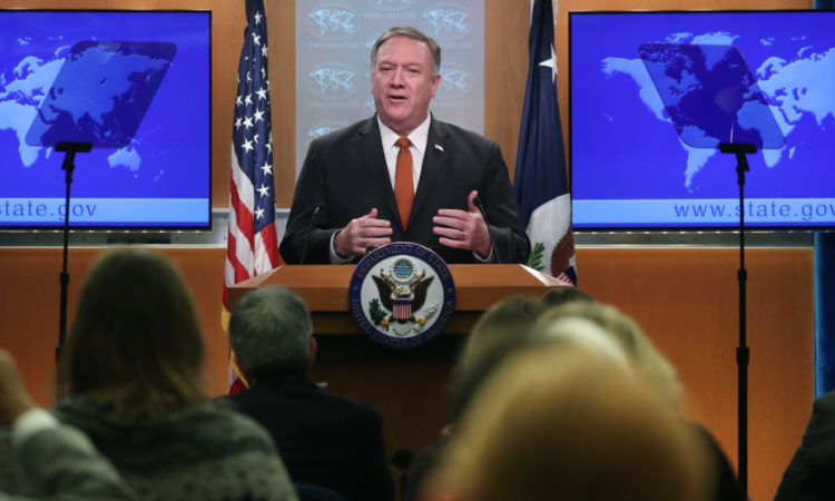 Secretary Pompeo (Photo by Mark Wilson/Getty Images)