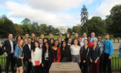 Jeunes Ambassadeurs de l'engagement associatif à Washington D.C. en octobre 2017