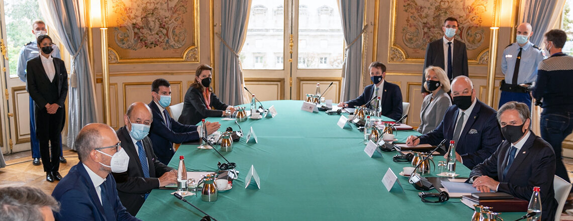 Secretary Blinken's Meeting with French Foreign Minister Le Drian