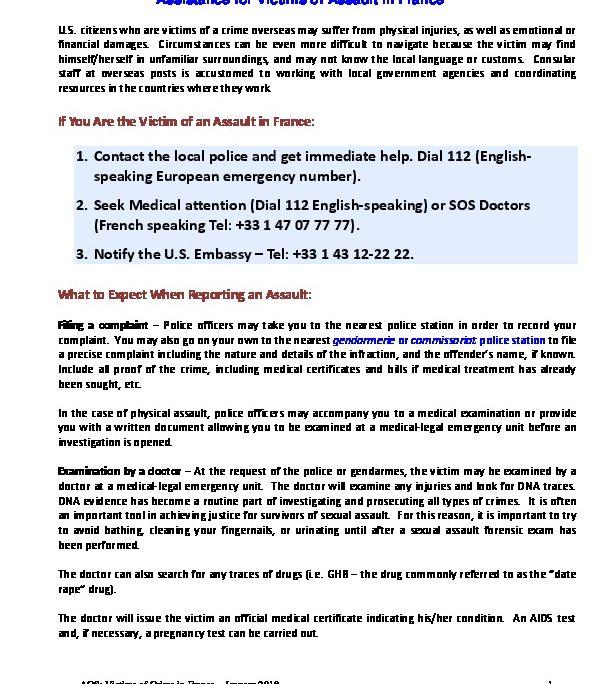 acs_victims compensation sexual assault | U S  Embassy & Consulates
