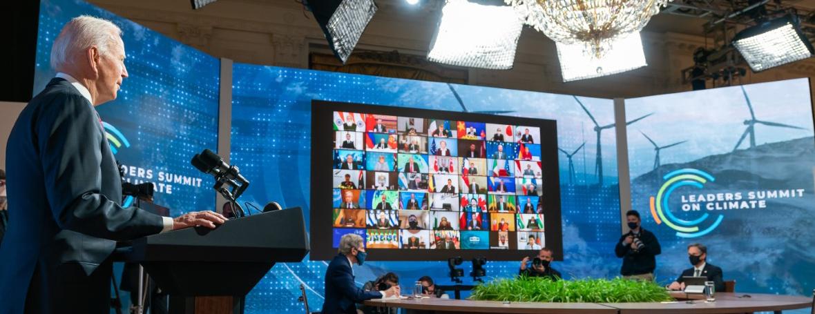 Allocution du président Biden lors de la séance d'ouverture du Sommet virtuel des leaders