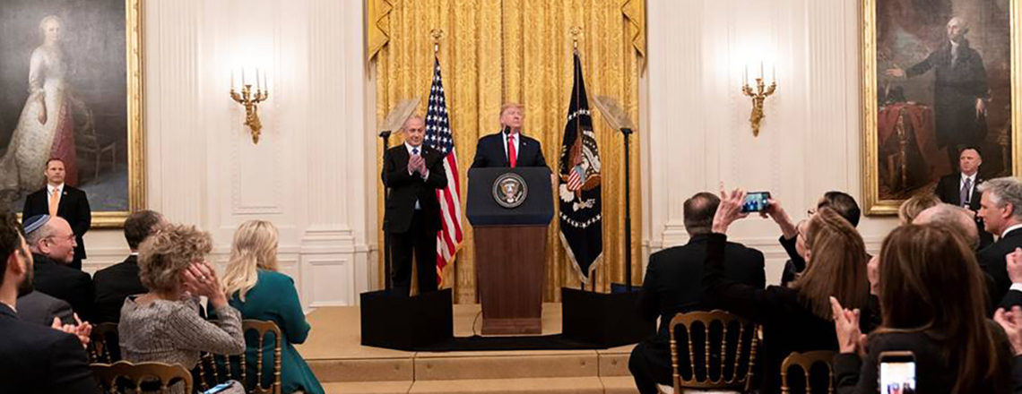 President Trump's Vision for Peace, Prosperity for Israel and the Palestinian People