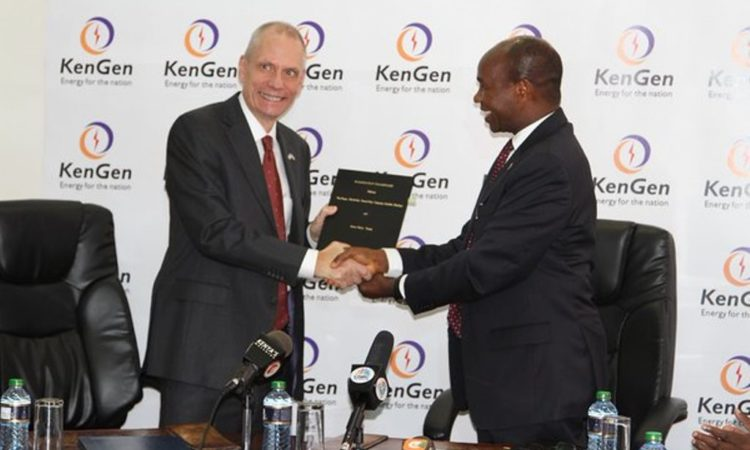 Power Africa KenGen Cooperation Framework