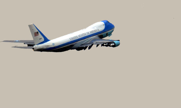 Image of plane flying. (Embassy Image)