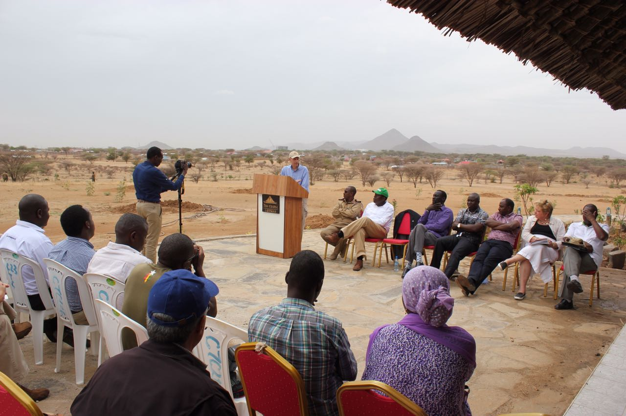 U S  and Kenya Launch Water Projects in Arid Lands and
