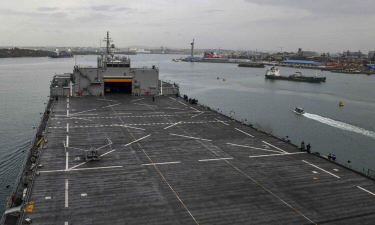 210208-N-GW139-1091 USS Hershell Mombasa