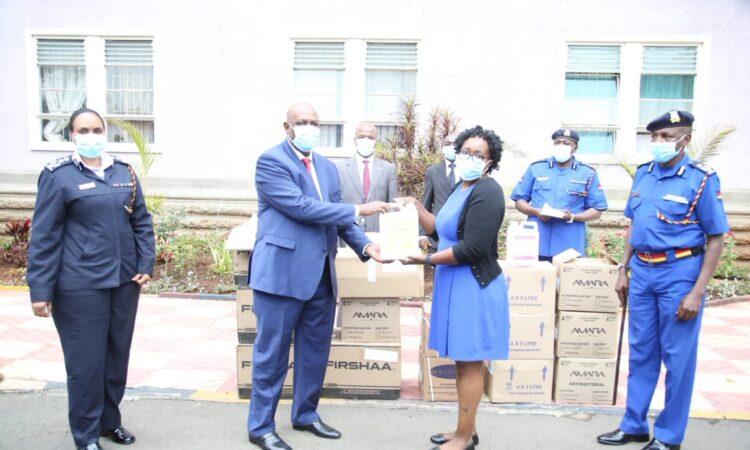 Kenya Police_Roslyn INL Donation