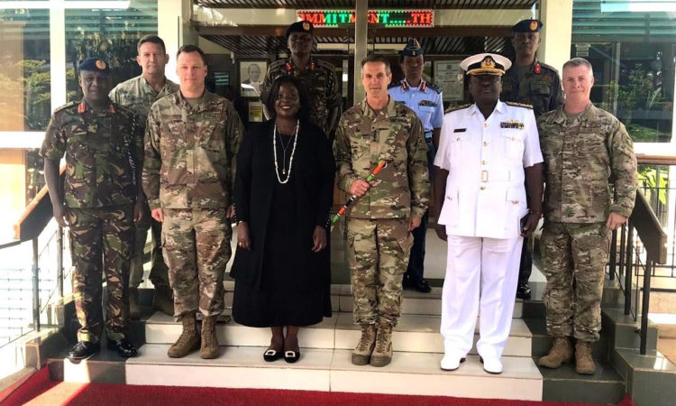 U.S. and Kenya to Strengthen Military Cooperation