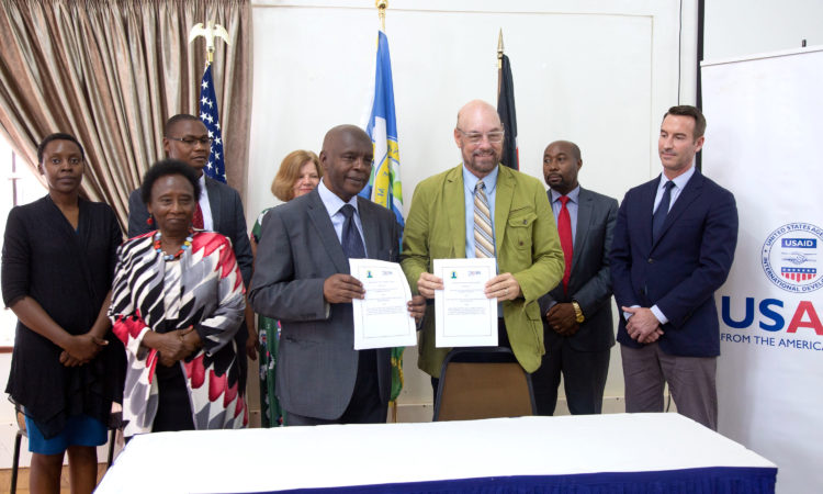 PHOTO 1 US and Makueni sign MOU