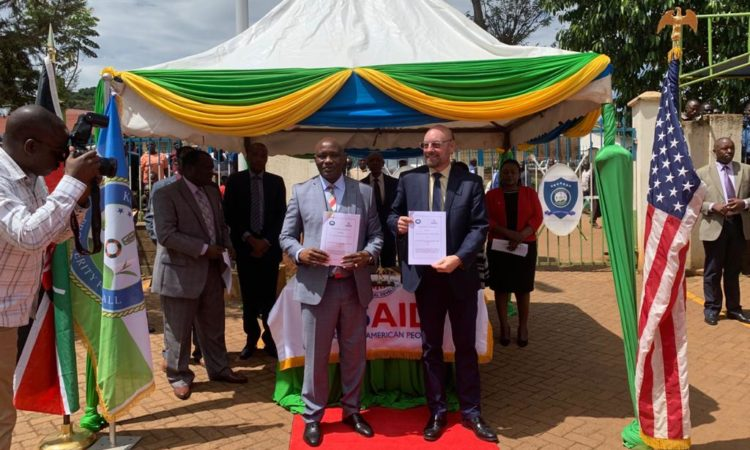 PHOTO-United States and Kisii County Sign MOU