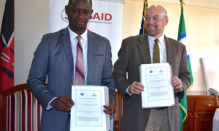 PHOTO – United States and Marsabit Sign Memorandum of Understanding