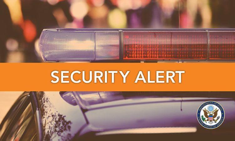 Security Alert Website