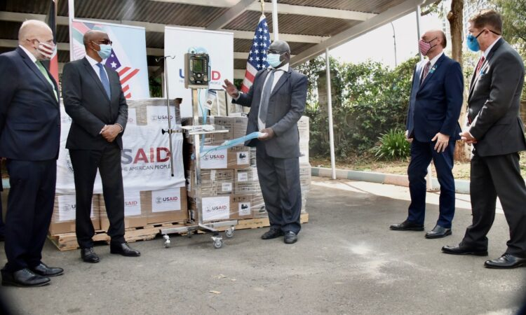 USAID Ventilator Donation October 2020