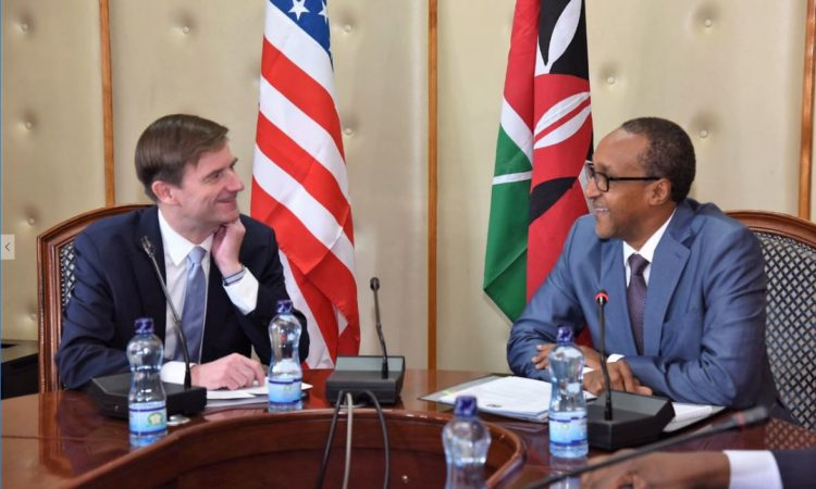 Under Secretary Hale -P with Amb Kamau