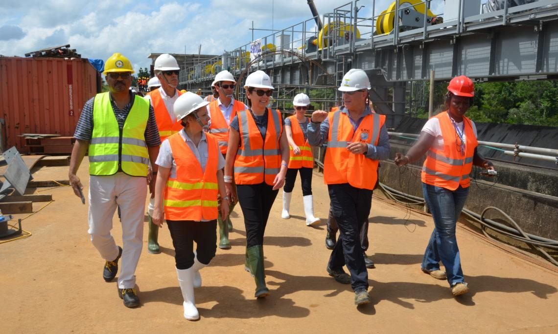 Millennium Challenge Corporation CEO Visits Monrovia, MCC