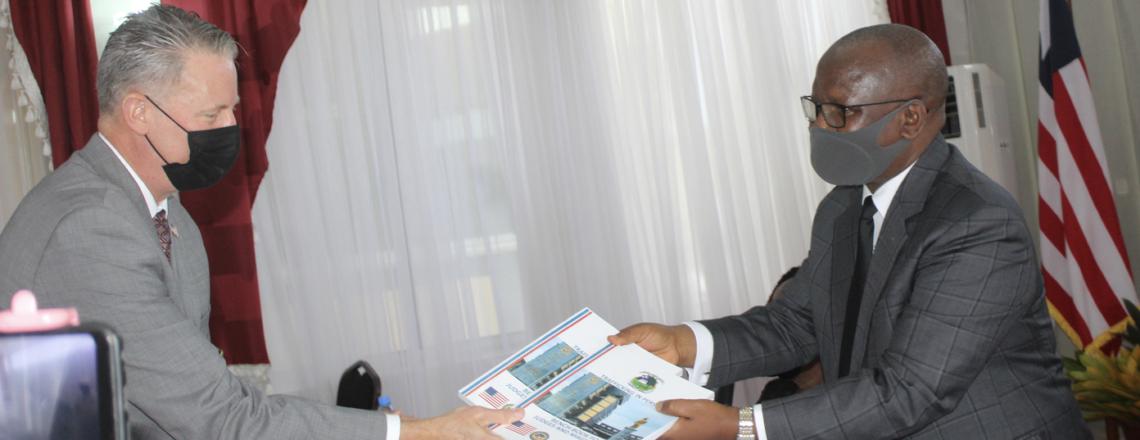 Ambassador McCarthy Donates New Handbooks for Combatting TIP, Calls for TIP Law Reform
