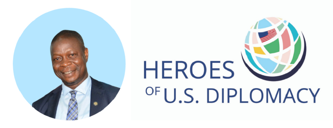 Retired Embassy Staff Member Jenkins Vangehn Named a Hero of U.S. Diplomacy