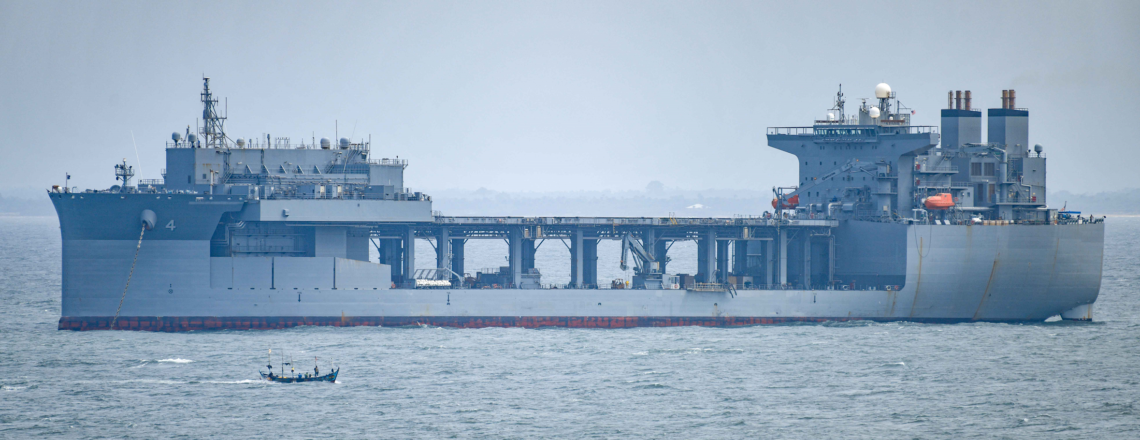 "USS Hershel ""Woody"" Williams Visits Liberia"