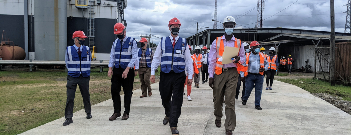 U.S. Ambassador Makes a Call-to-Action to Stop Power Theft in Liberia