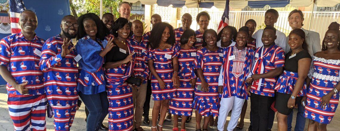 U.S. Embassy Monrovia Celebrates the 2021 Class of Mandela Washington Fellows