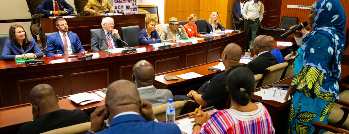 U.S. Congressional Delegation Collaborates with Liberian Legislature