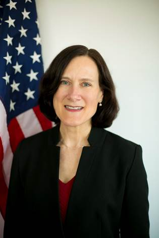 Photo of Chargé d'Affaires Alyson Grunder