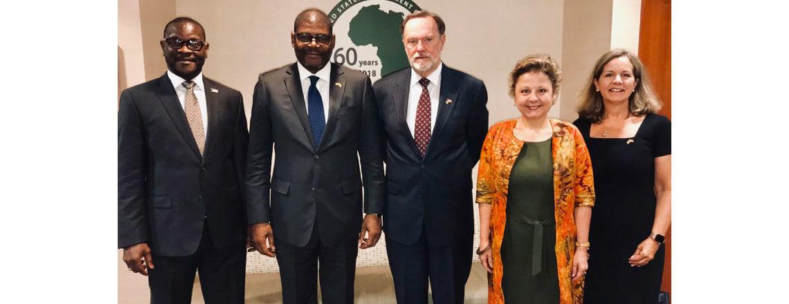 Fourth Annual U.S.-Liberia Partnership Dialogue