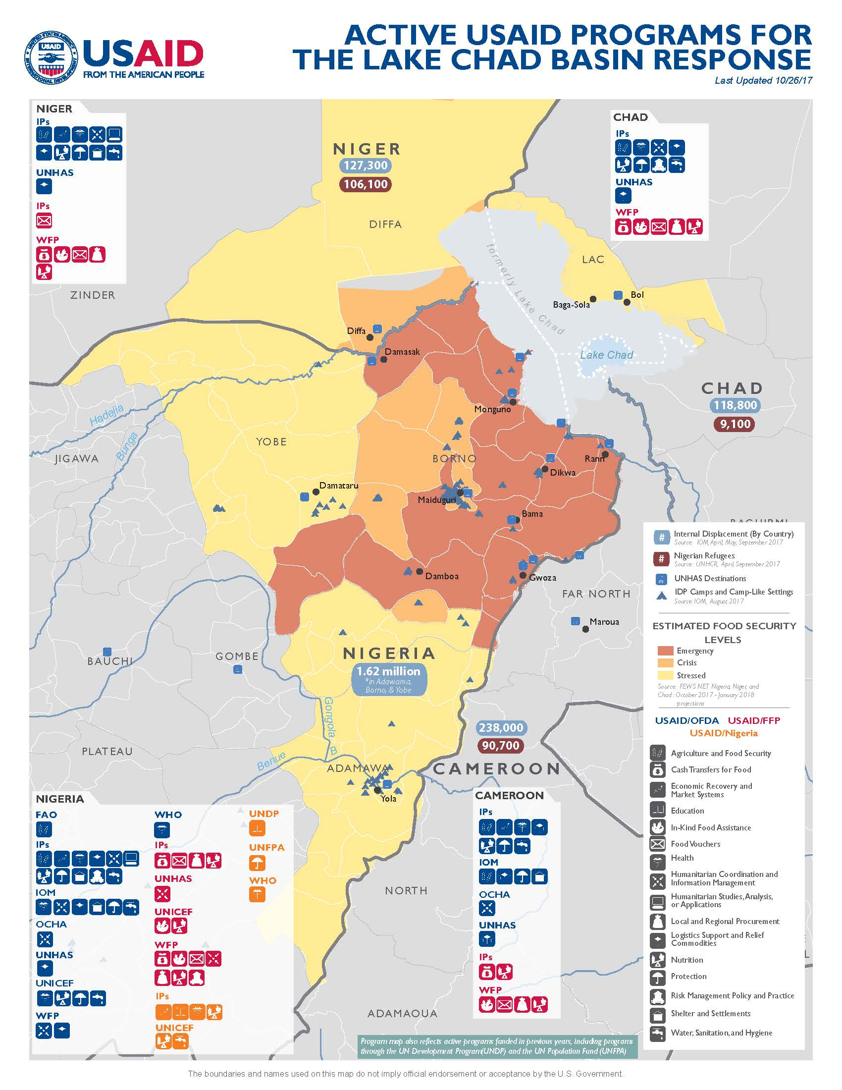 10.26.17 - USAID-DCHA Lake Chad Basin Complex Emergency Program Map ...