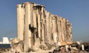 Beirut explosion grain silos