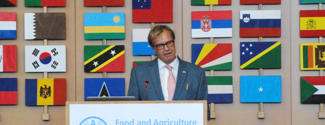 Remarks by Ambassador Kip Tom at the FAO Digital Agriculture Transformation Seminar