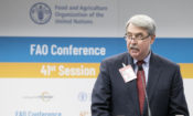 USDA Under Secretary Ted McKinney gives the U.S. Statement at the 41st FAO Conference